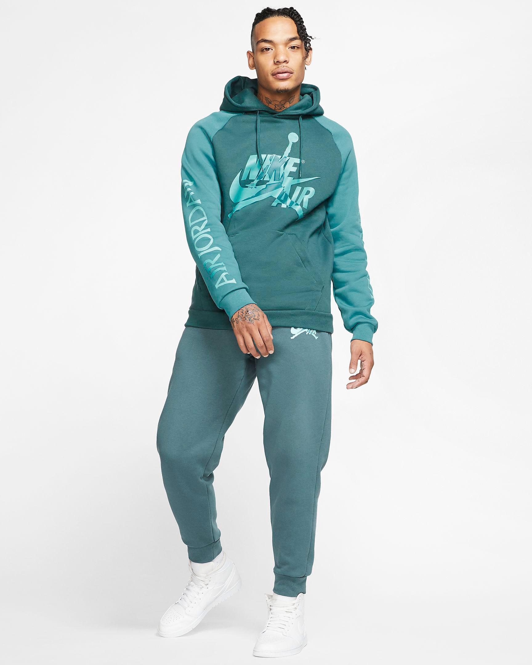 island-green-air-jordan-hoodie-pants