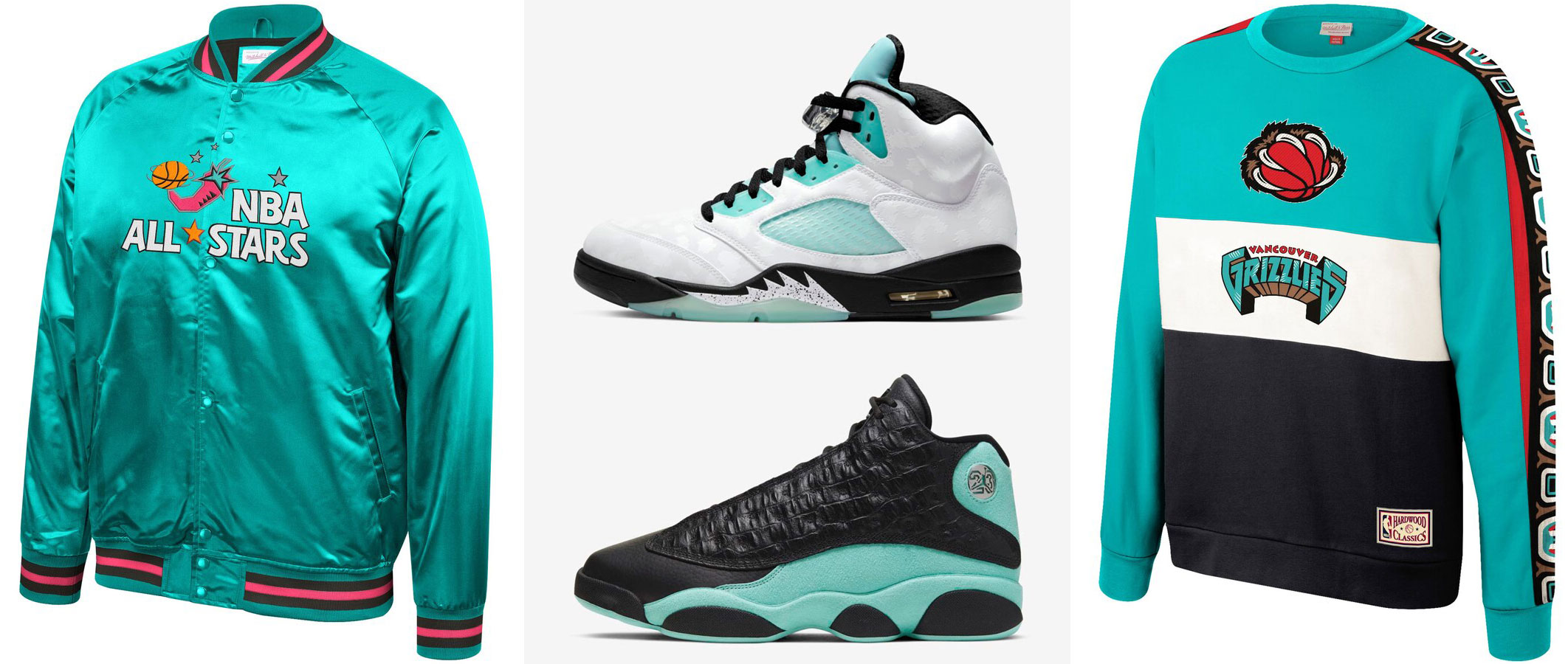 island-green-air-jordan-retro-nba-clothing-match