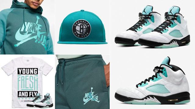 island-green-jordan-5-outfits