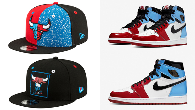 jordan-1-high-fearless-bulls-snapback-caps