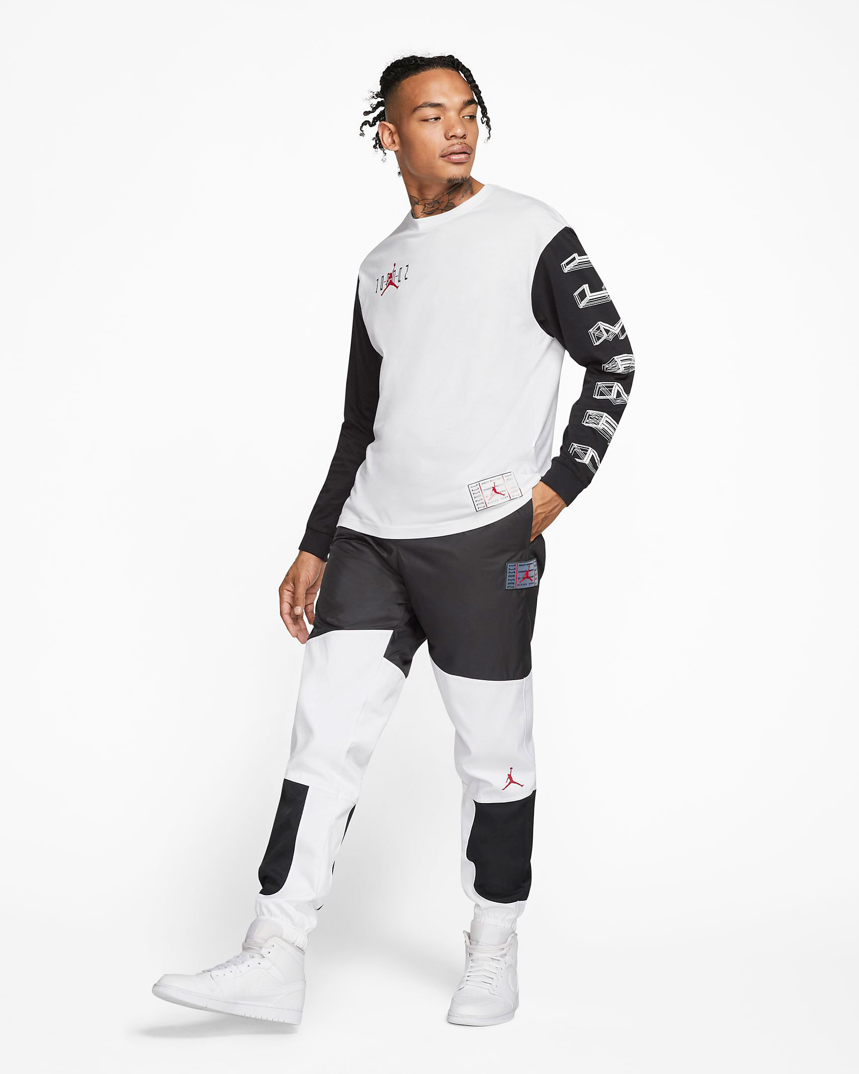 jordan-11-bred-shirt-pants