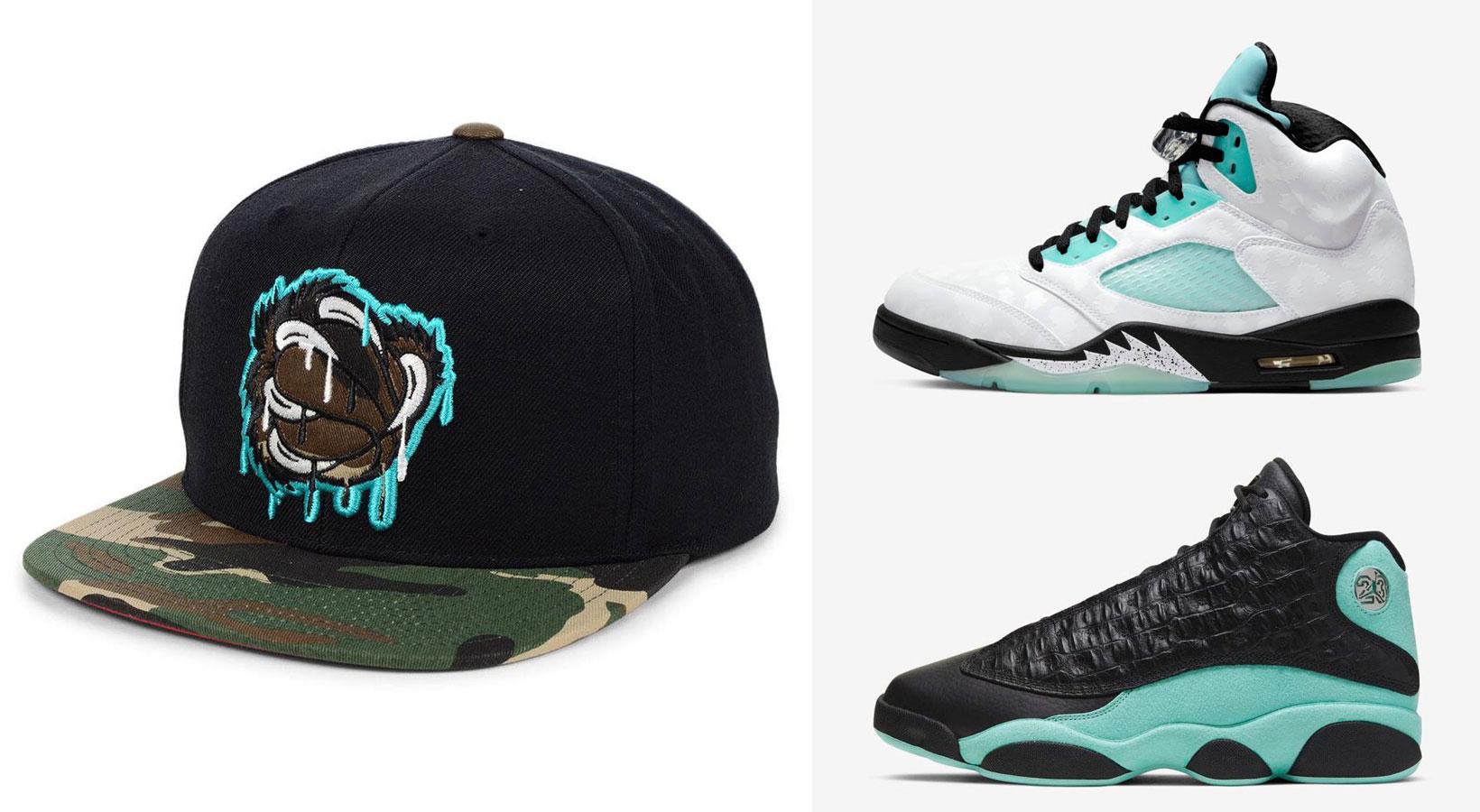 jordan-island-green-grizzles-snapback-hat-match