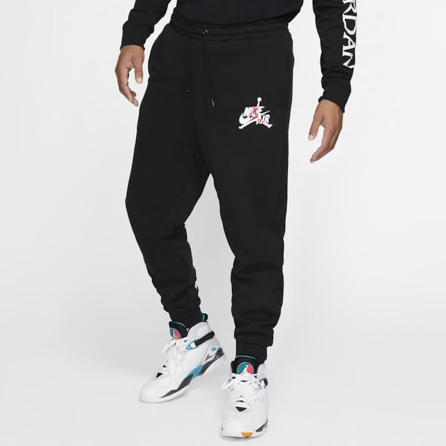 jordan-jumpman-classics-joggers-black-red-1