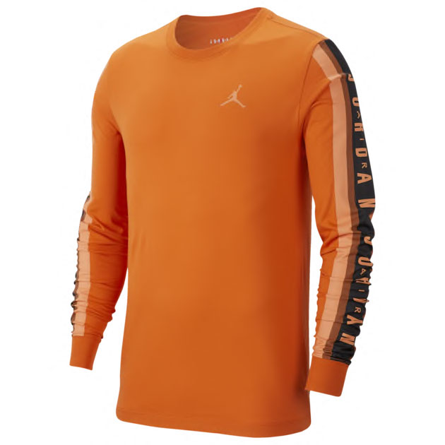 jordan-shattered-backboard-3-orange-starfish-long-sleeve-shirt-1