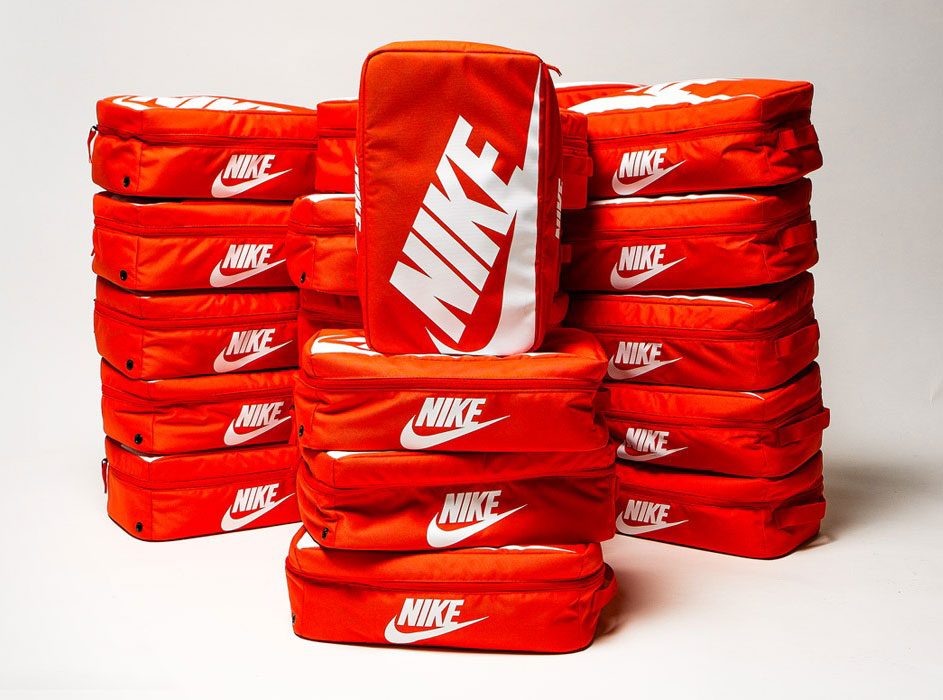 Nike Orange Shoe Box Bag Sneakerfits