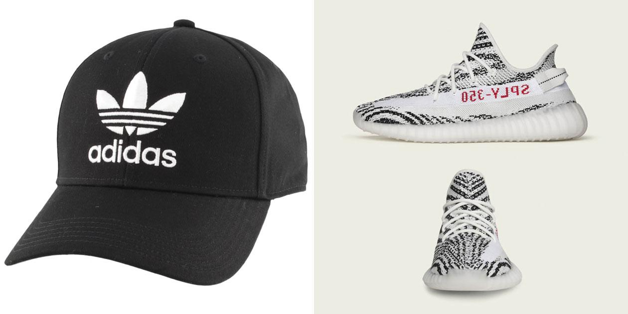 adidas-yeezy-boost-350-v2-zebra-2019-hat-match
