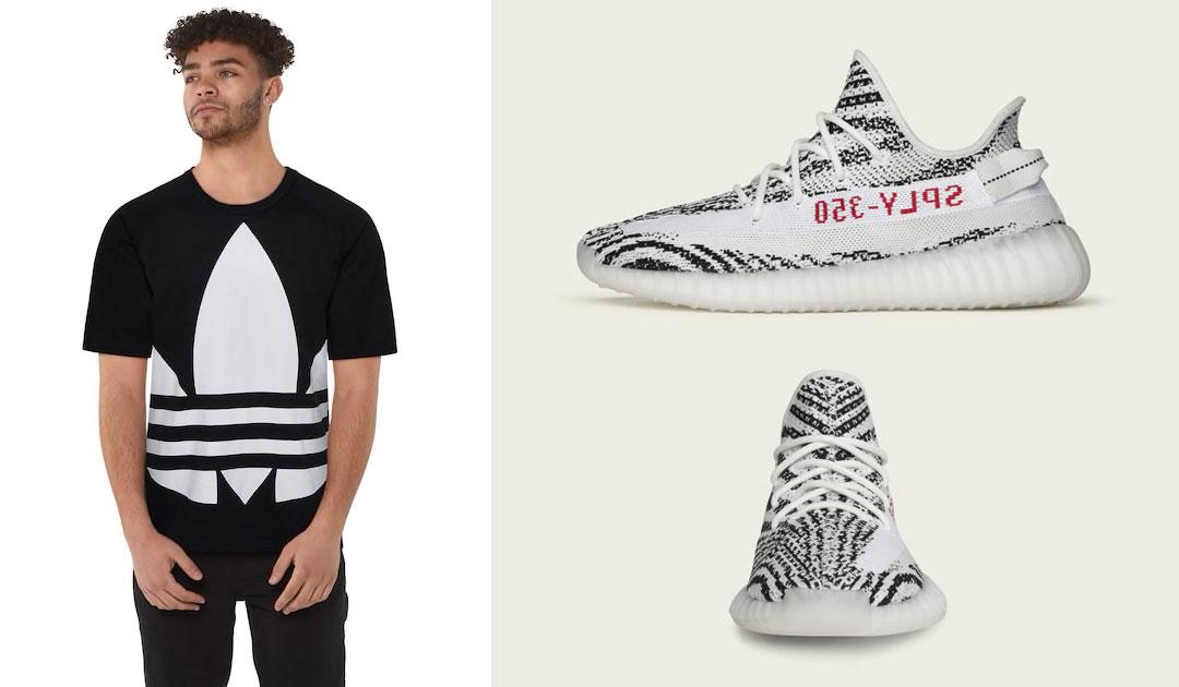adidas-yeezy-boost-350-v2-zebra-shirt-match-2