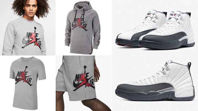 air-jordan-12-dark-grey-apparel-match