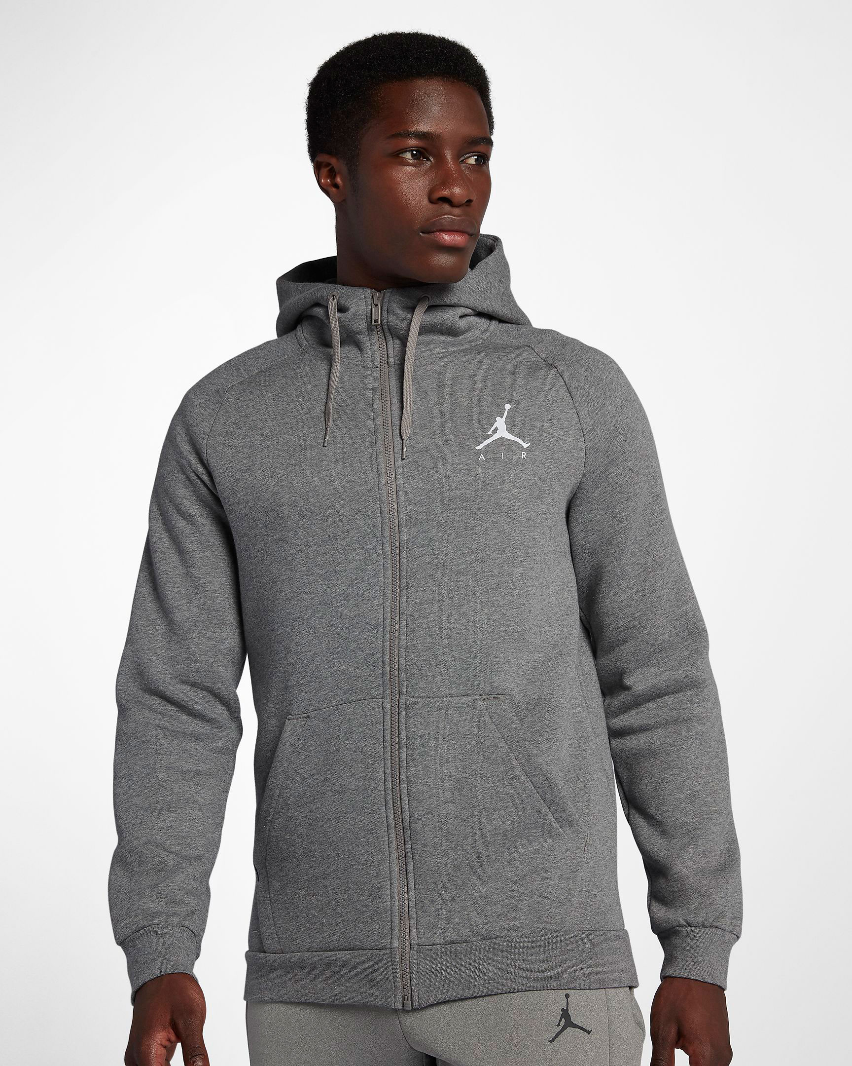 air-jordan-12-dark-grey-white-zip-hoodie-match
