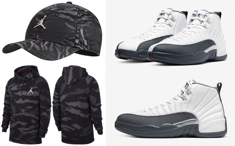 air-jordan-12-white-dark-grey-hoodie-hat-match