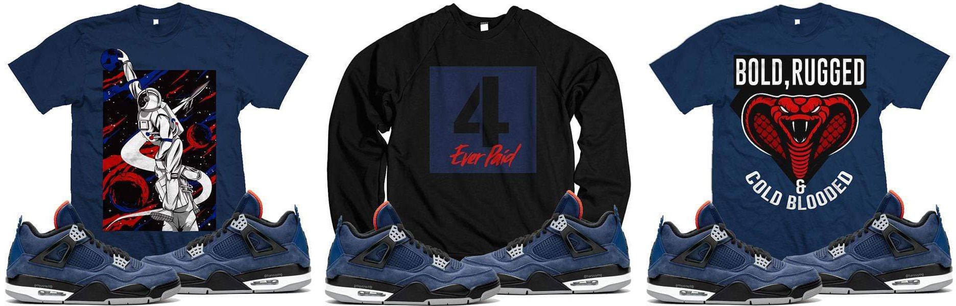 air-jordan-4-winter-sneaker-match-shirts
