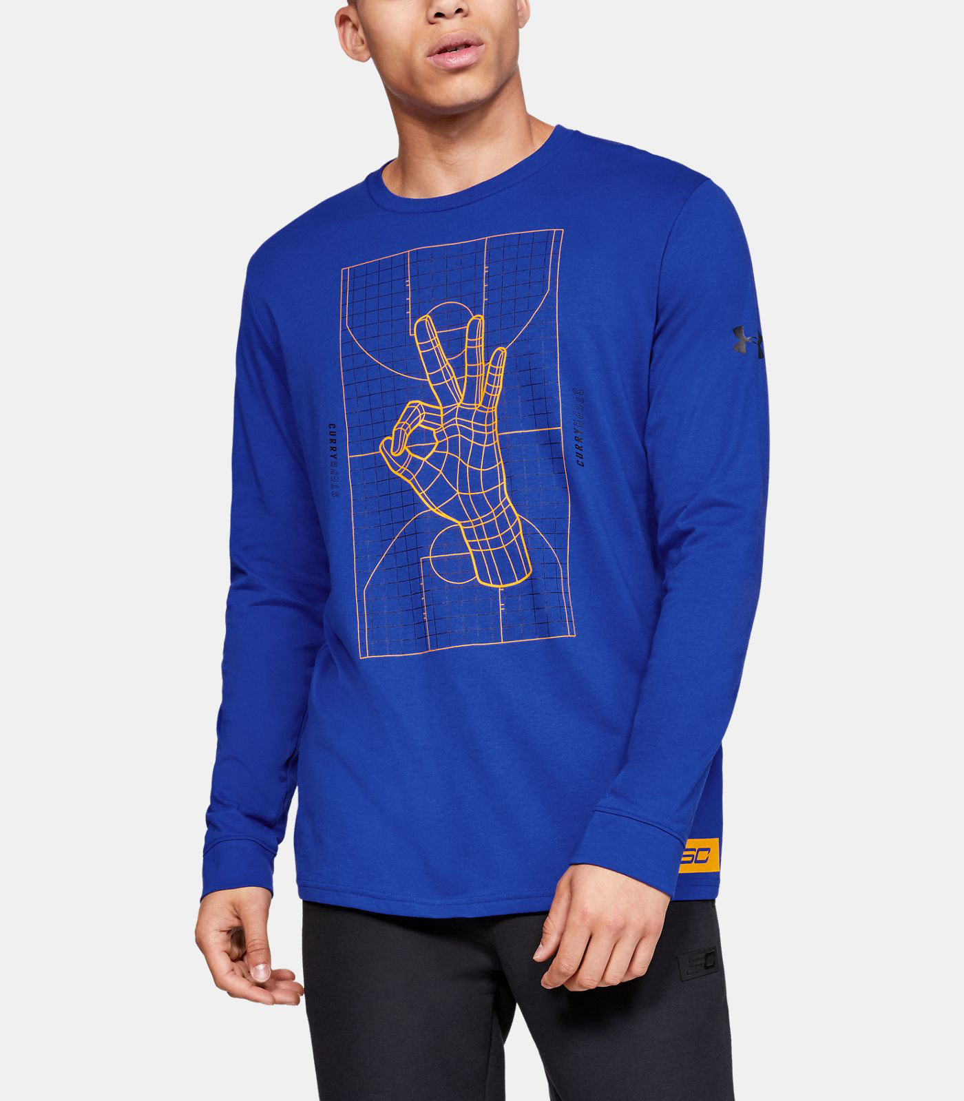 curry-7-long-sleeve-shirt-blue