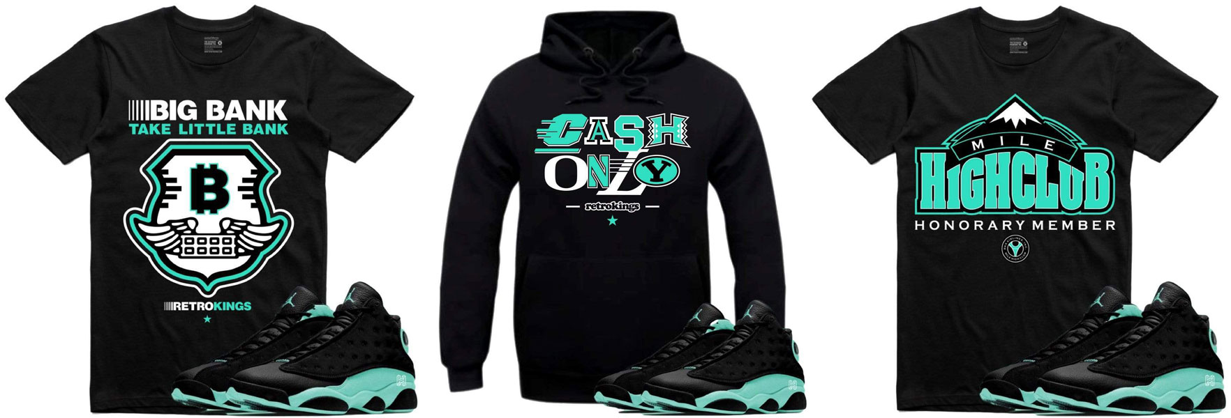 cyber-monday-air-jordan-13-island-green-sneaker-match-clothing