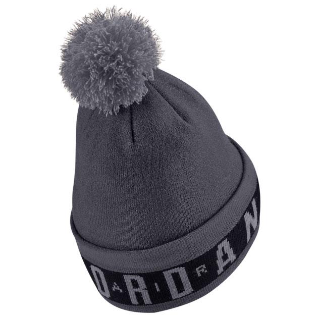 jordan-12-dark-grey-beanie-hat-2