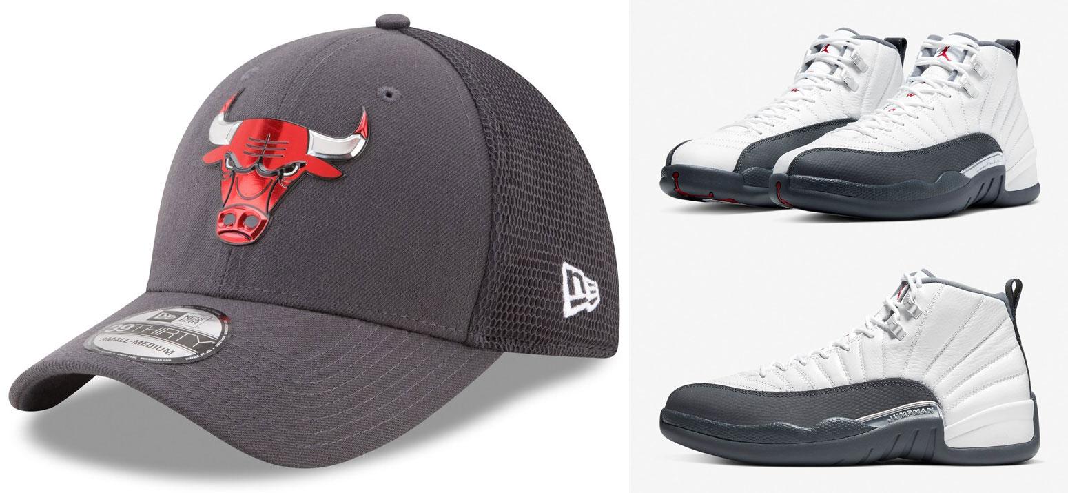 jordan-12-dark-grey-bulls-flex-hat