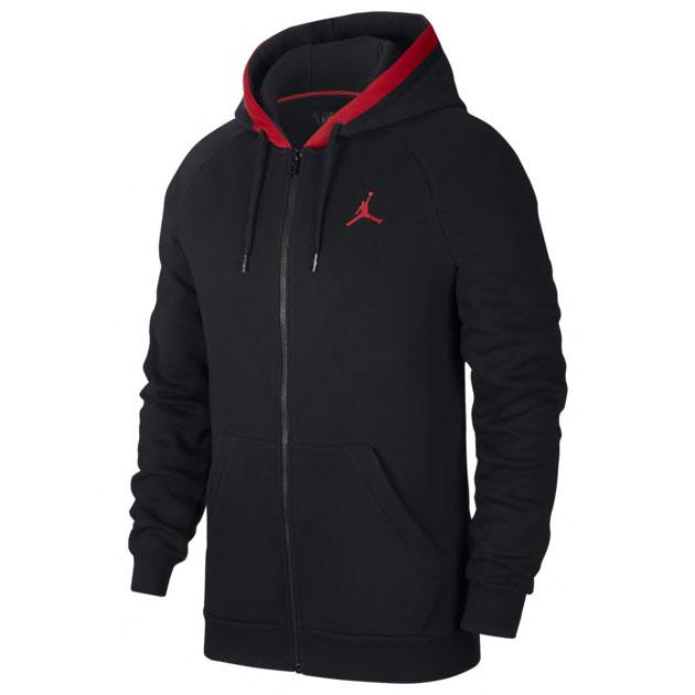 jordan-14-black-ferrari-hoodie-match-1