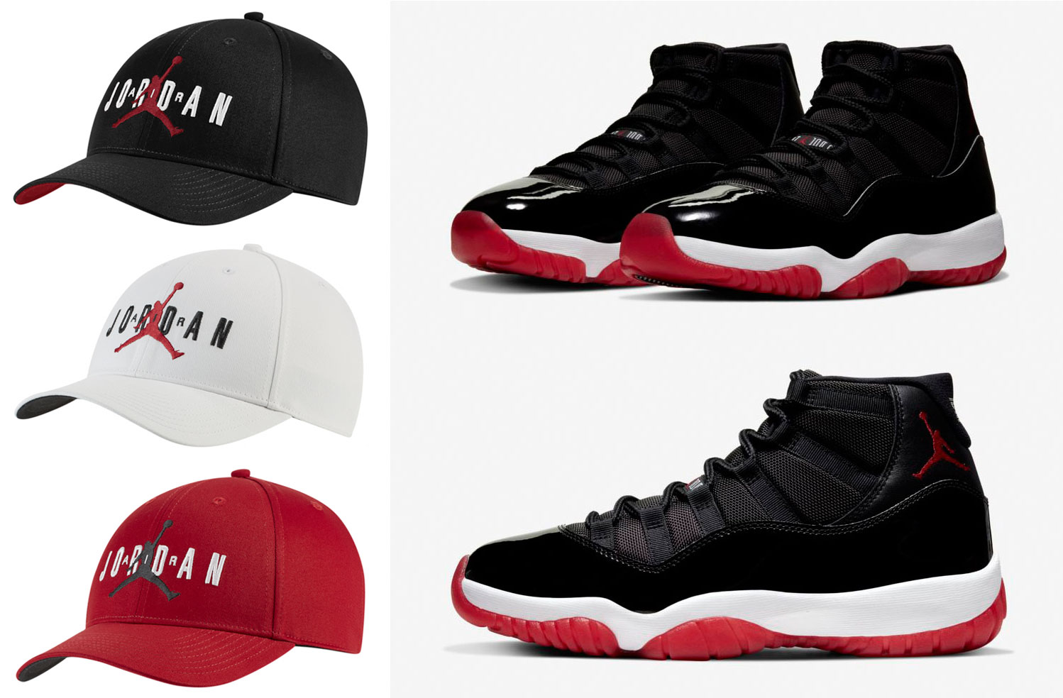 jordan-hats-to-match-air-jordan-11-bred-2019