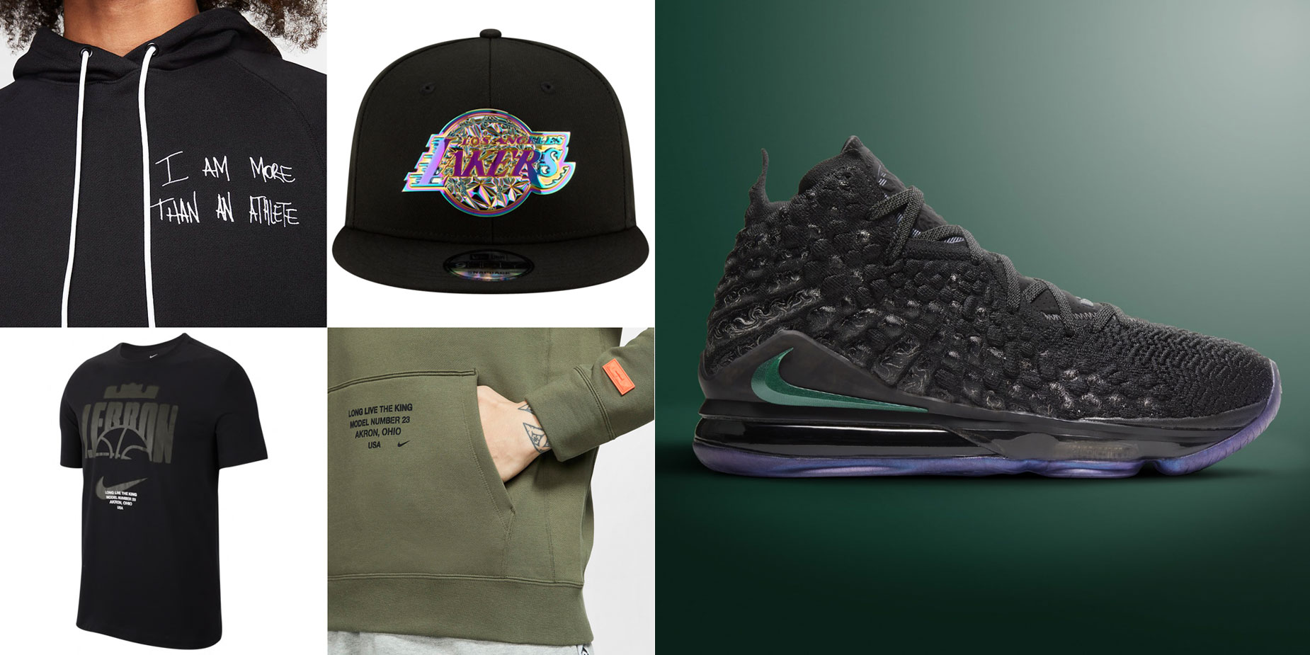 nike-lebron-17-currency-clothing-hat-match