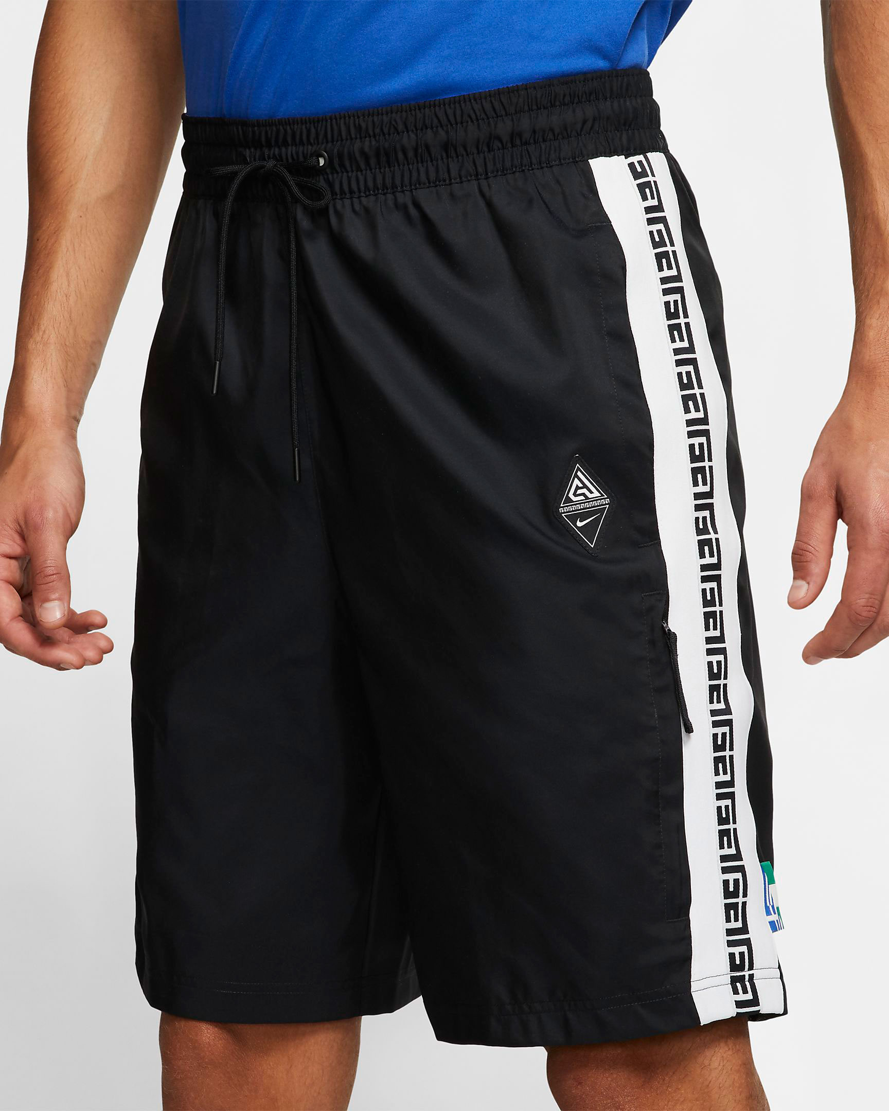 nike-zoom-freak-1-black-white-giannis-shorts