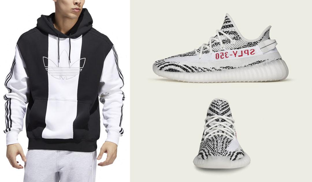 zebra yeezy hoodie