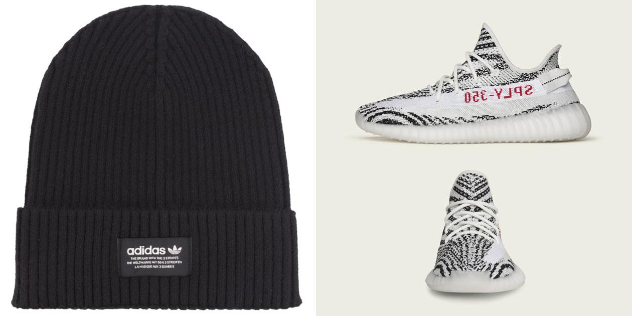 yeezy-boost-350-v2-zebra-beanie-hat