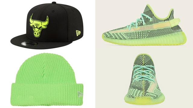 yeezy-boost-yeezreel-matching-hats