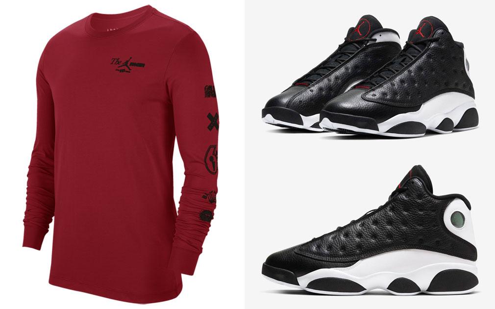 air-jordan-13-reverse-he-got-game-shirt-match