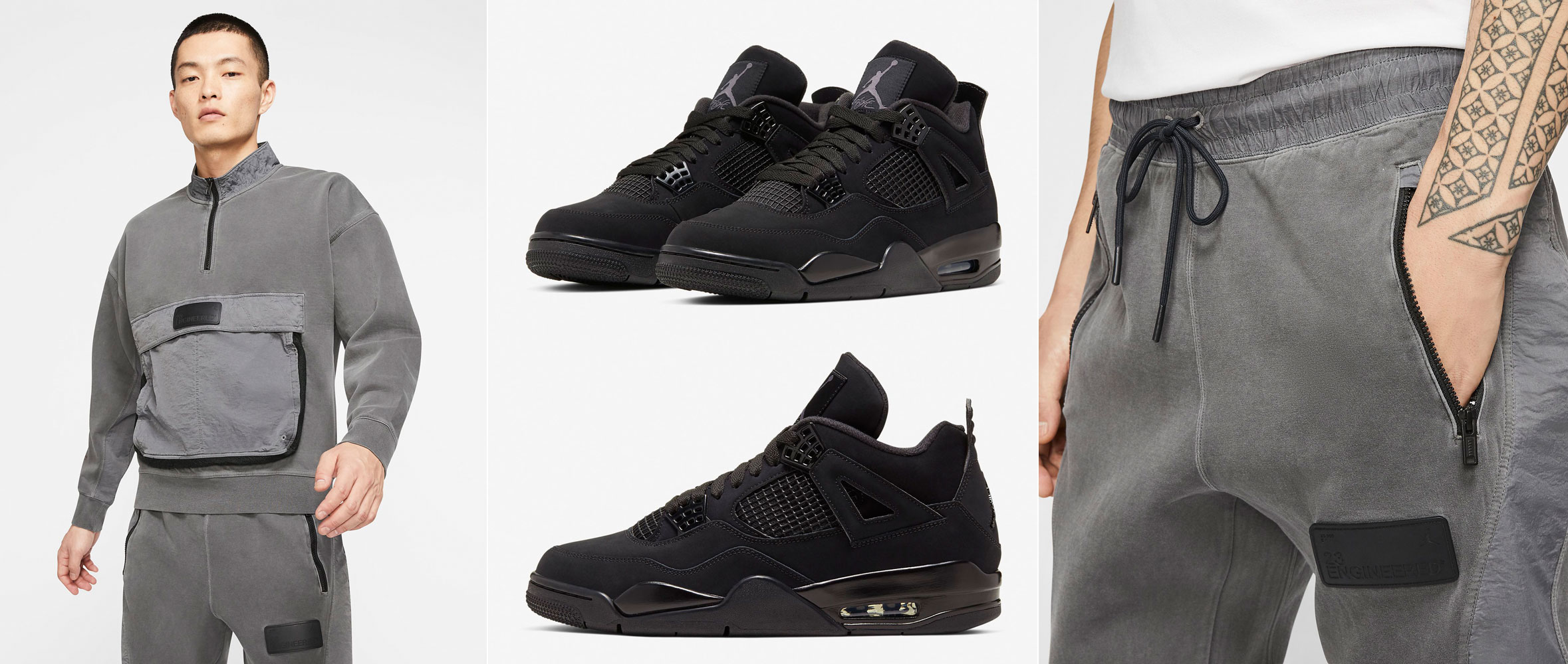 air-jordan-4-black-cat-matching-outfit