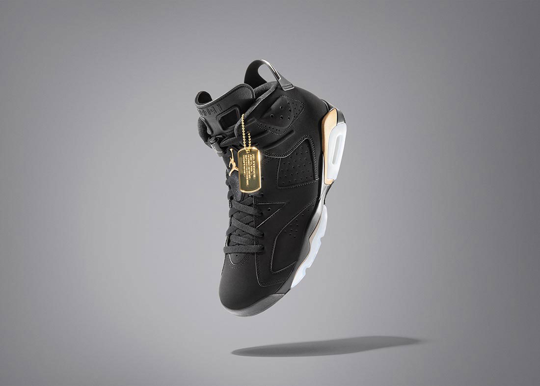 Air Jordan 6 DMP 2020 Black Gold Bulls Hat | SneakerFits.com