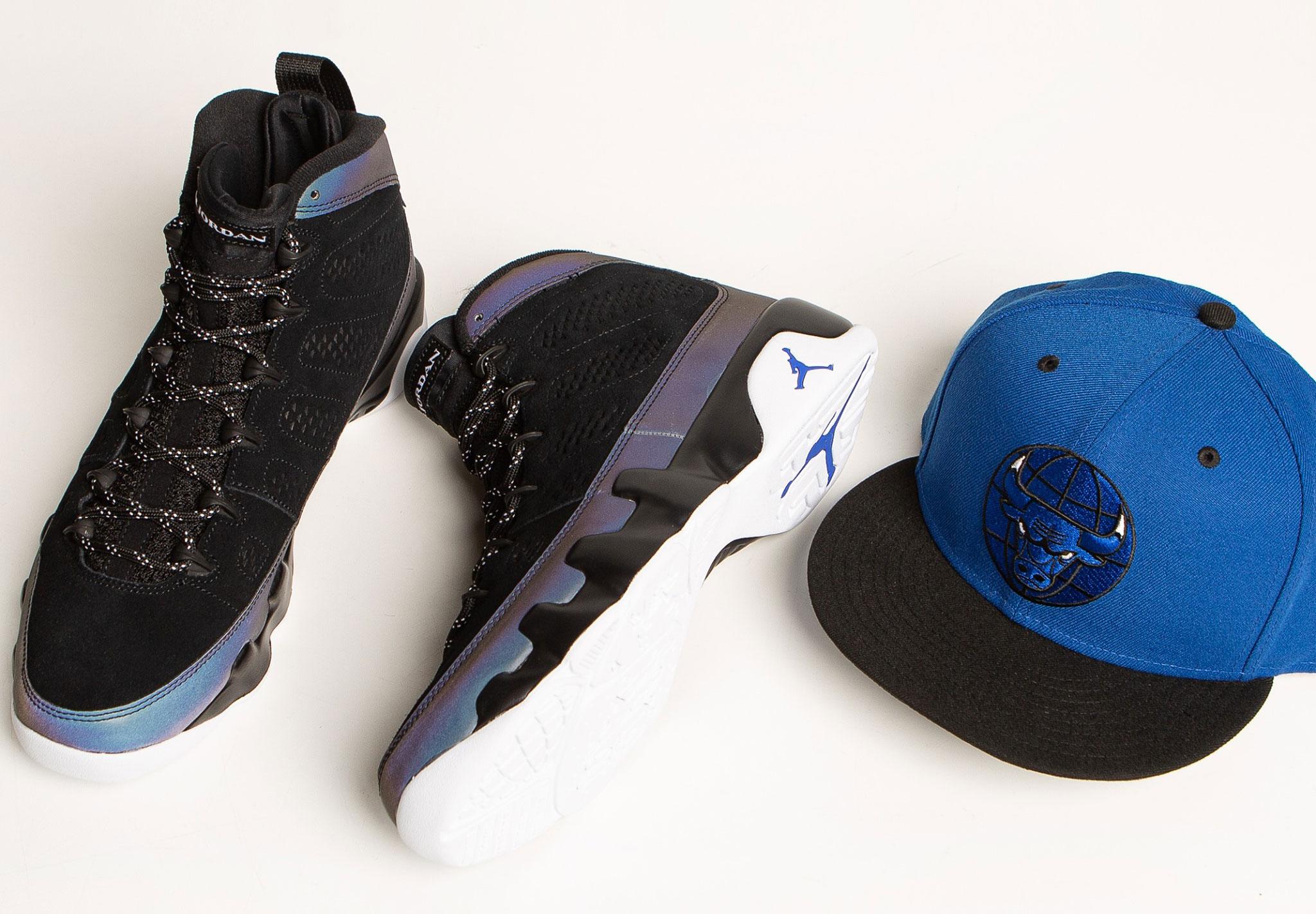air-jordan-9-racer-blue-snapback-hat
