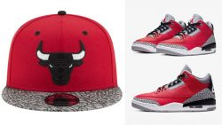 jordan-3-red-cement-snapback-cap