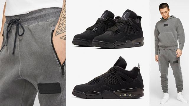 jordan-4-black-cat-matching-apparel