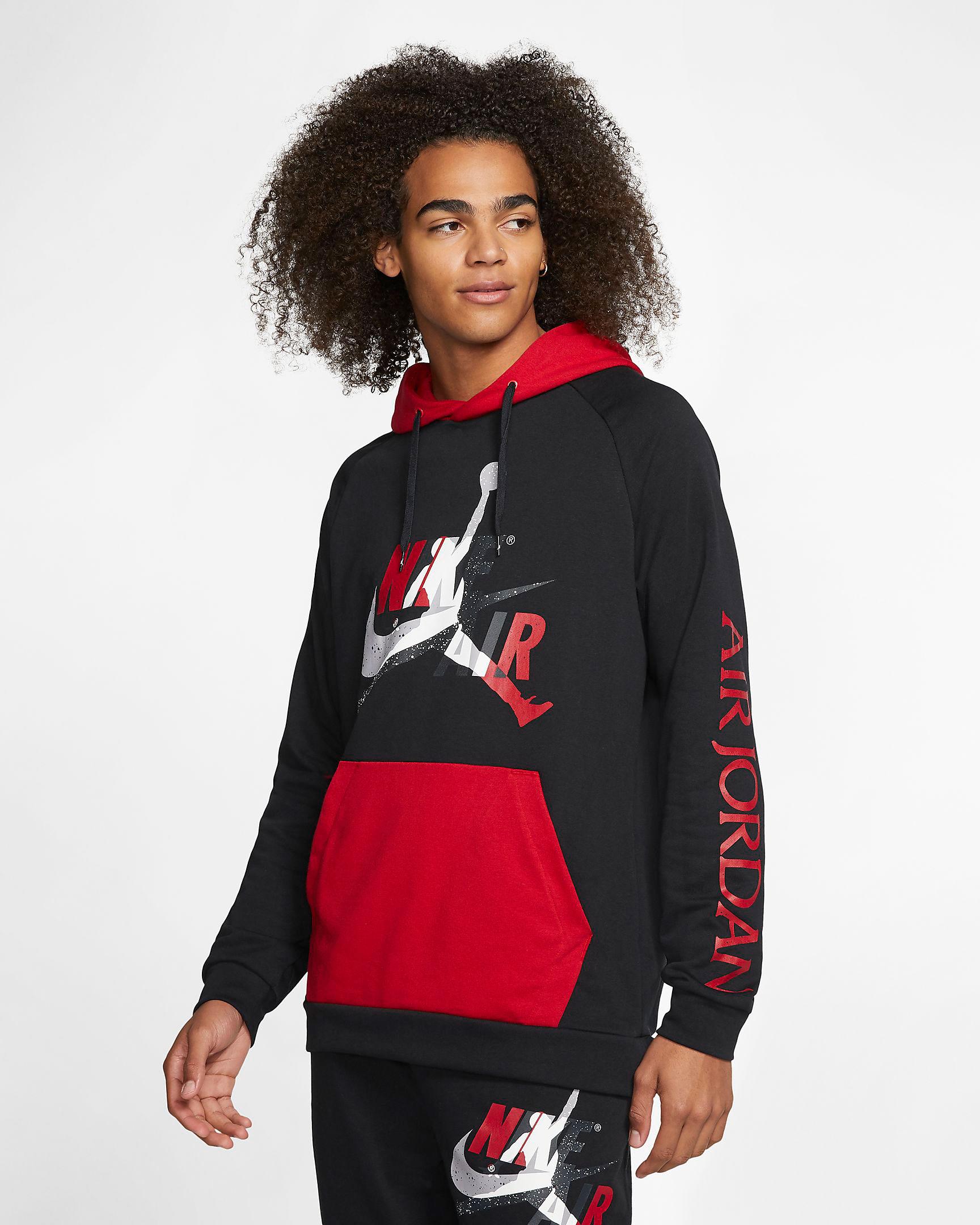 jordan-jumpman-classics-hoodie-black-red-cement-grey