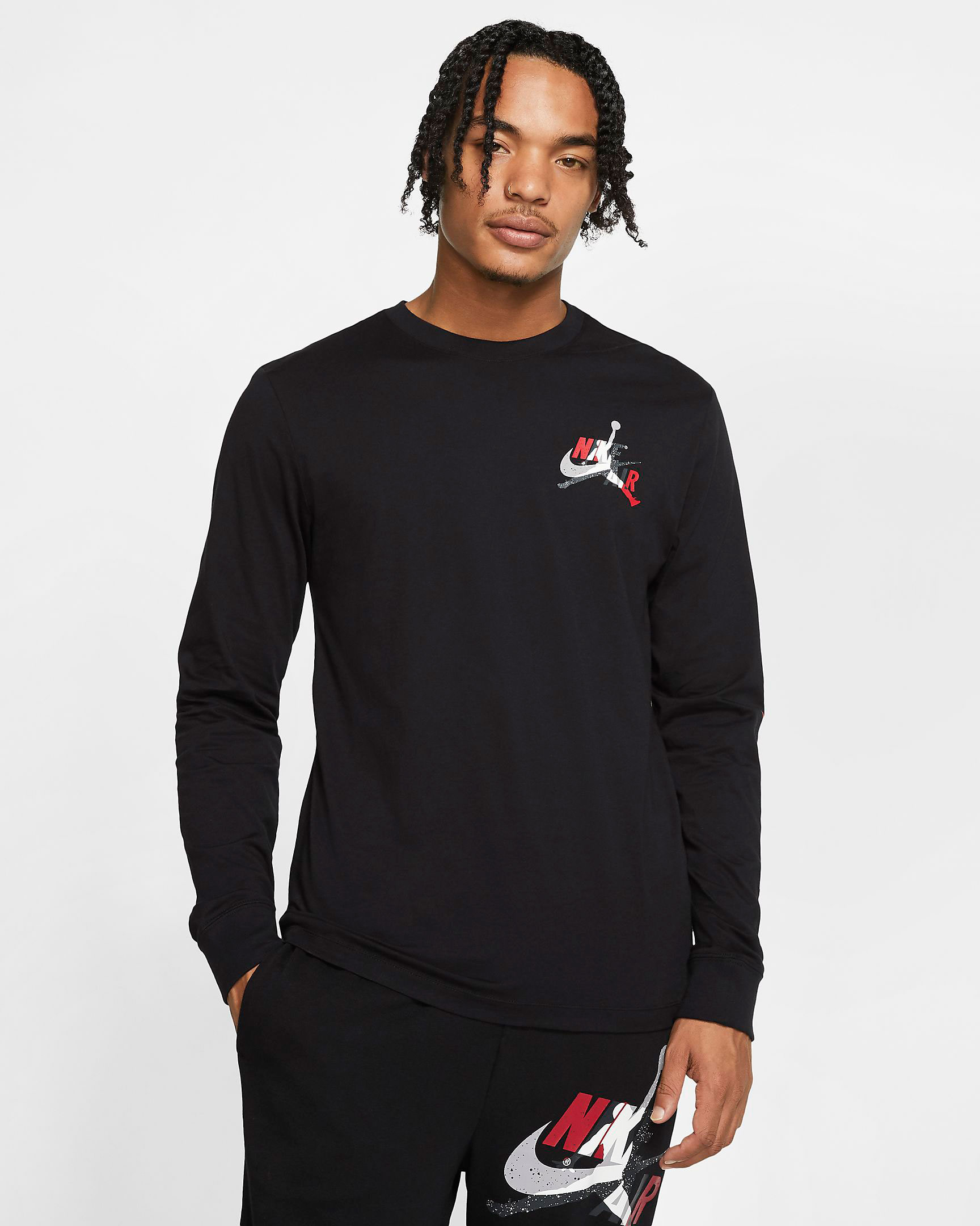 jordan-jumpman-classics-long-sleeve-shirt-black-red-1