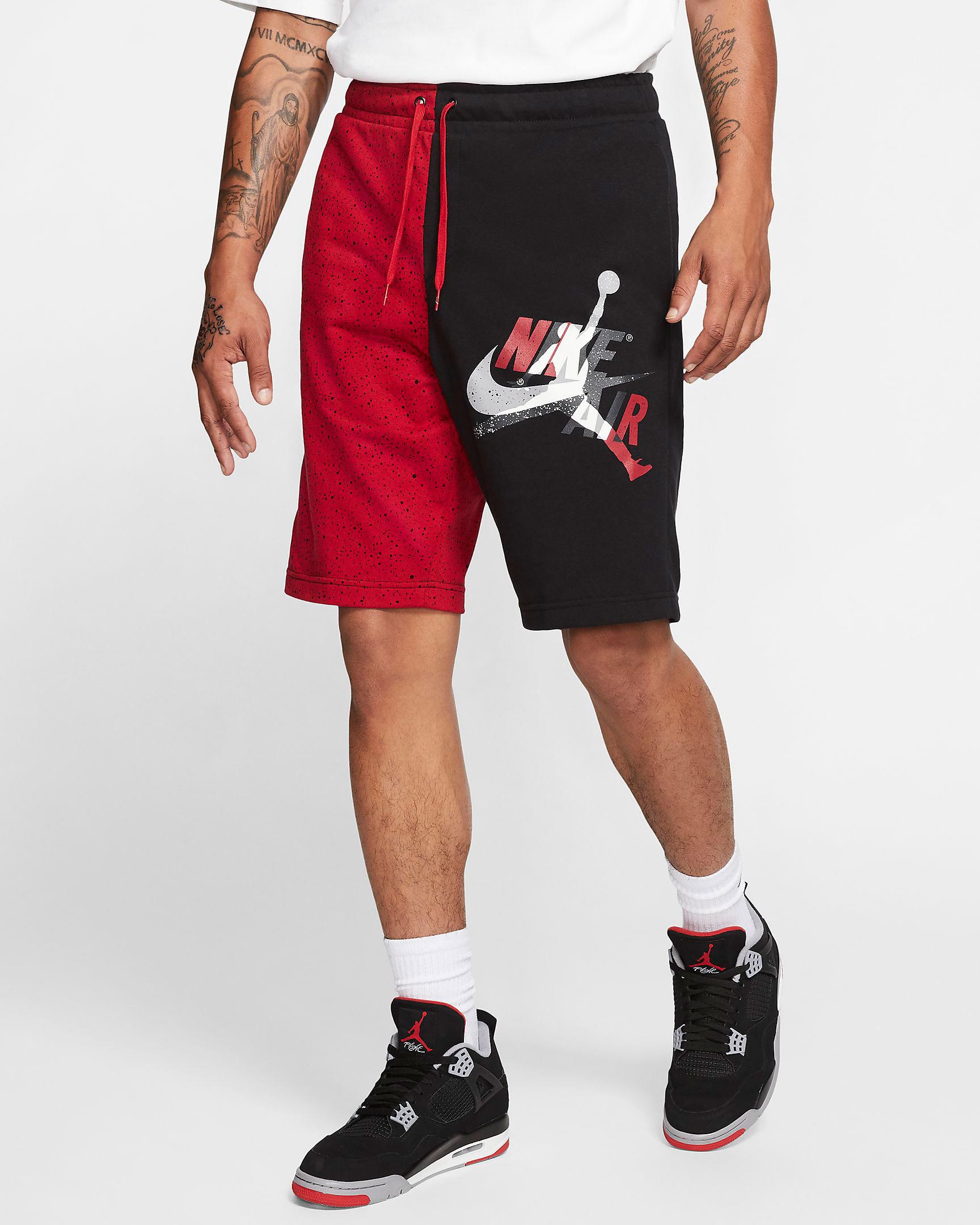 jordan-jumpman-classics-shorts-black-red-cement-grey