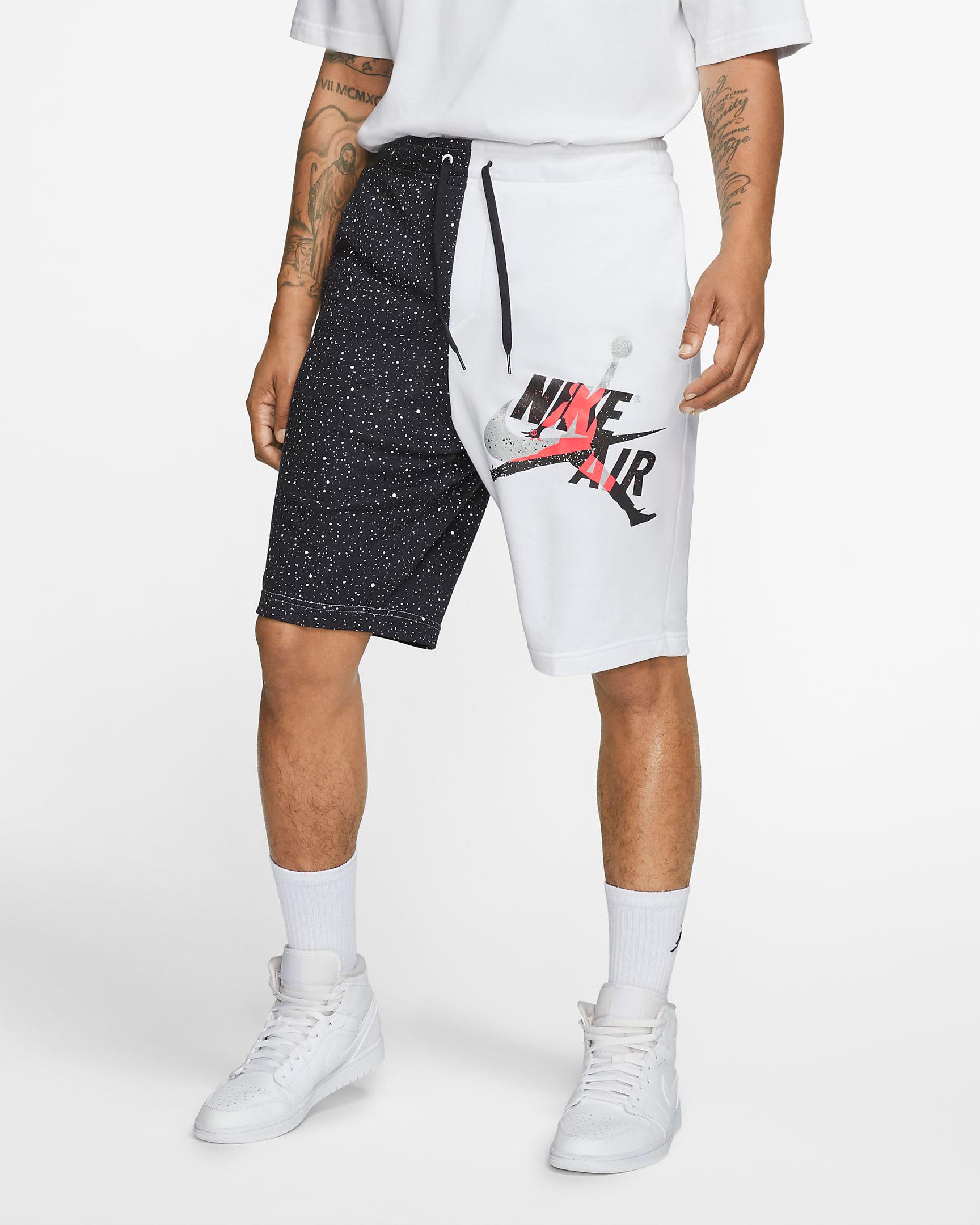 jordan-jumpman-classics-shorts-white-black-infrared