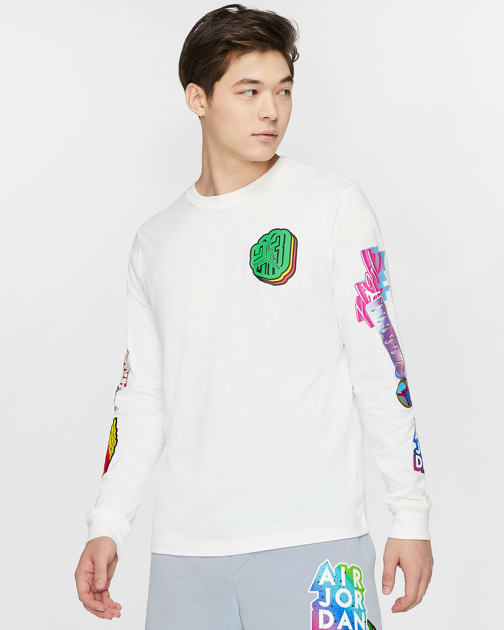 jordan-sticker-long-sleeve-shirt-white-1
