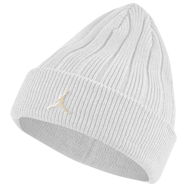 jordan-white-gold-beanie-knit-hat