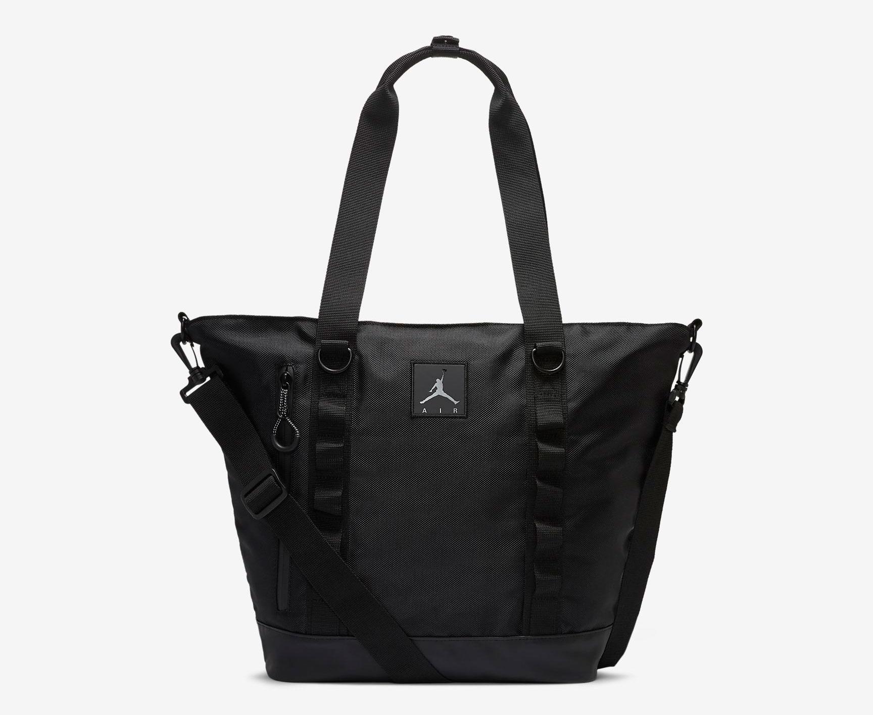 jordan-womens-black-tote-bag