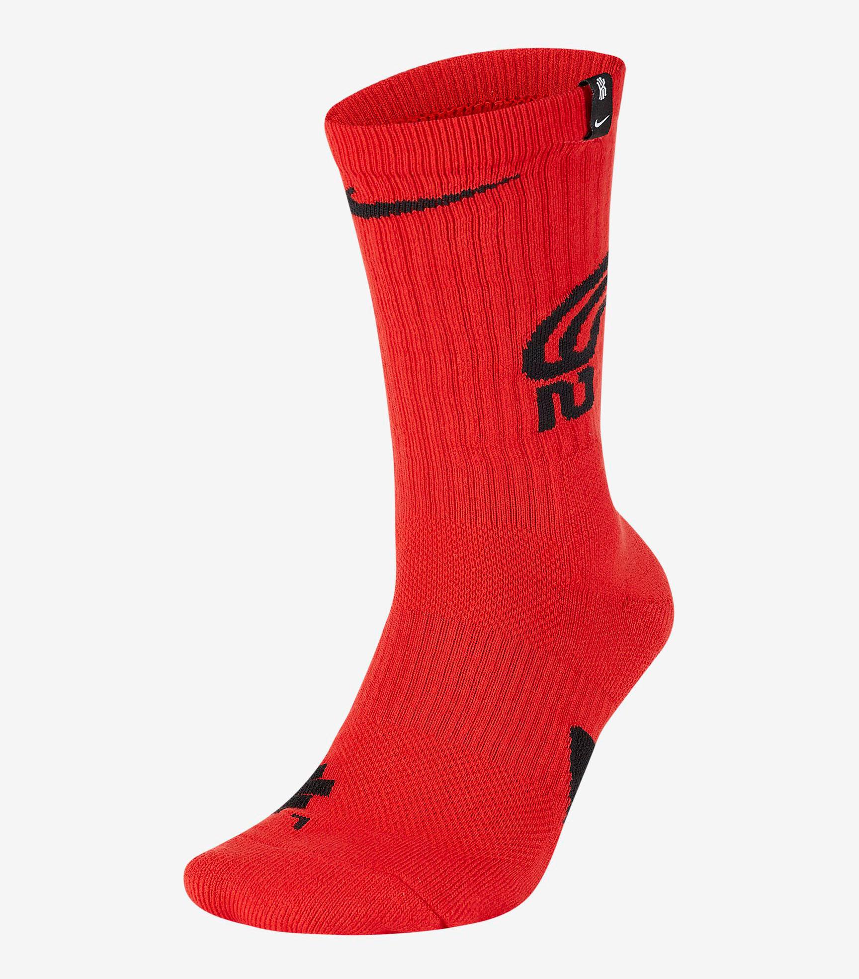kyrie-6-bred-socks-red