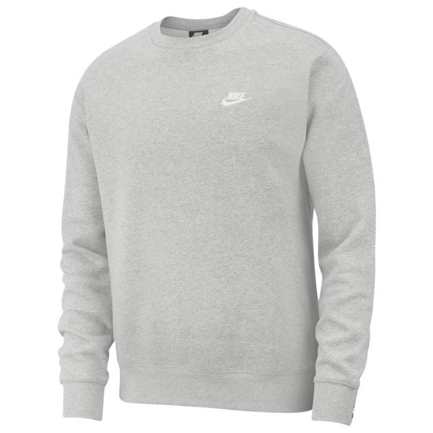 nike-club-fleece-crew-sweatshirt-heather-grey
