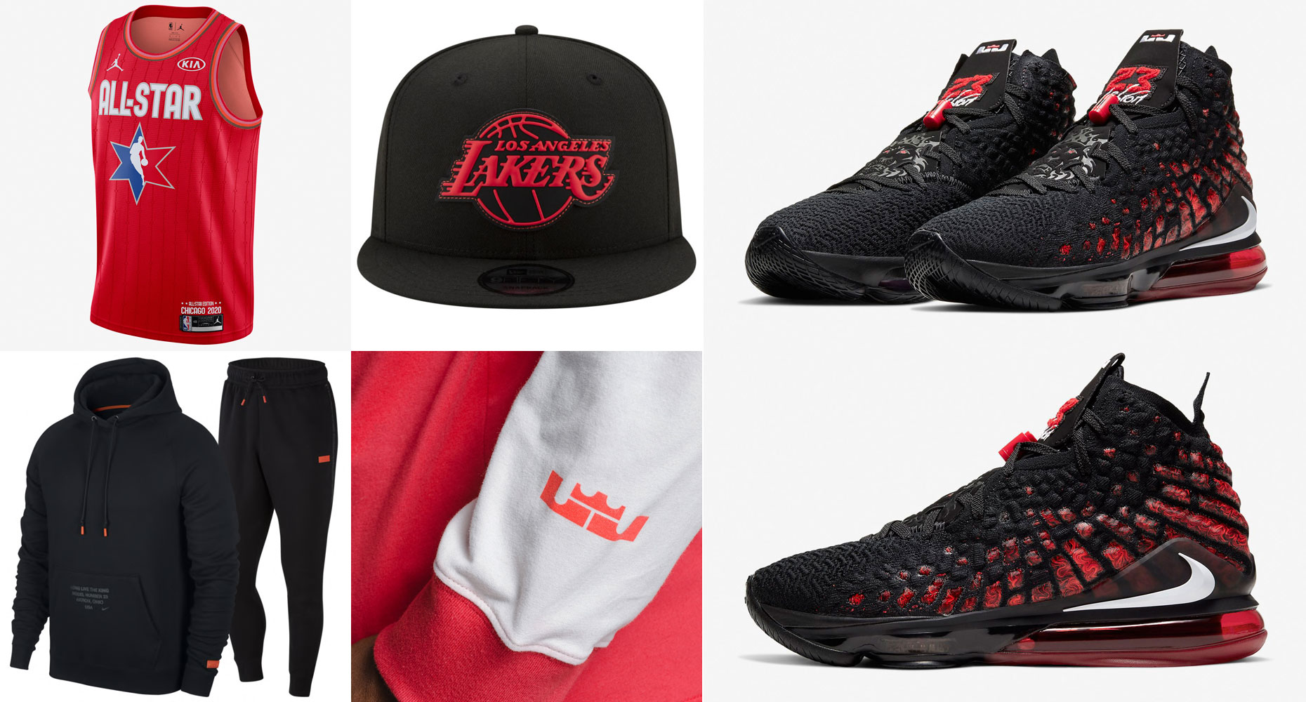 nike-lebron-17-infrared-clothing-match