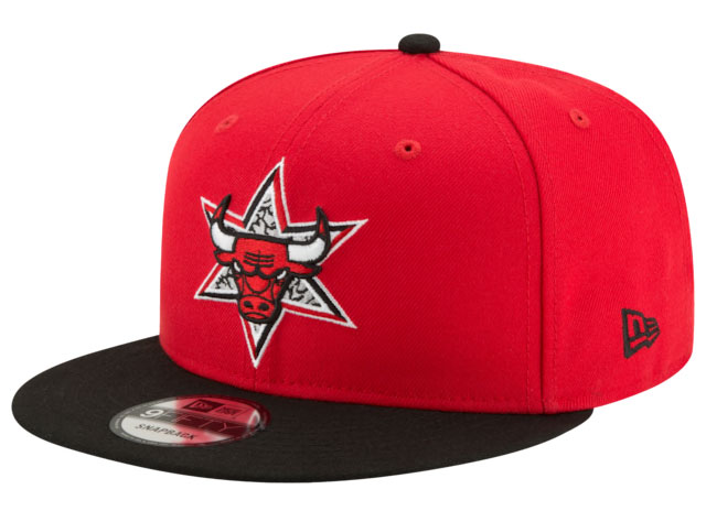 red-cement-jordan-3-new-era-bulls-all-star-game-hat-1