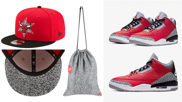 red-cement-jordan-3-new-era-bulls-cap-bag