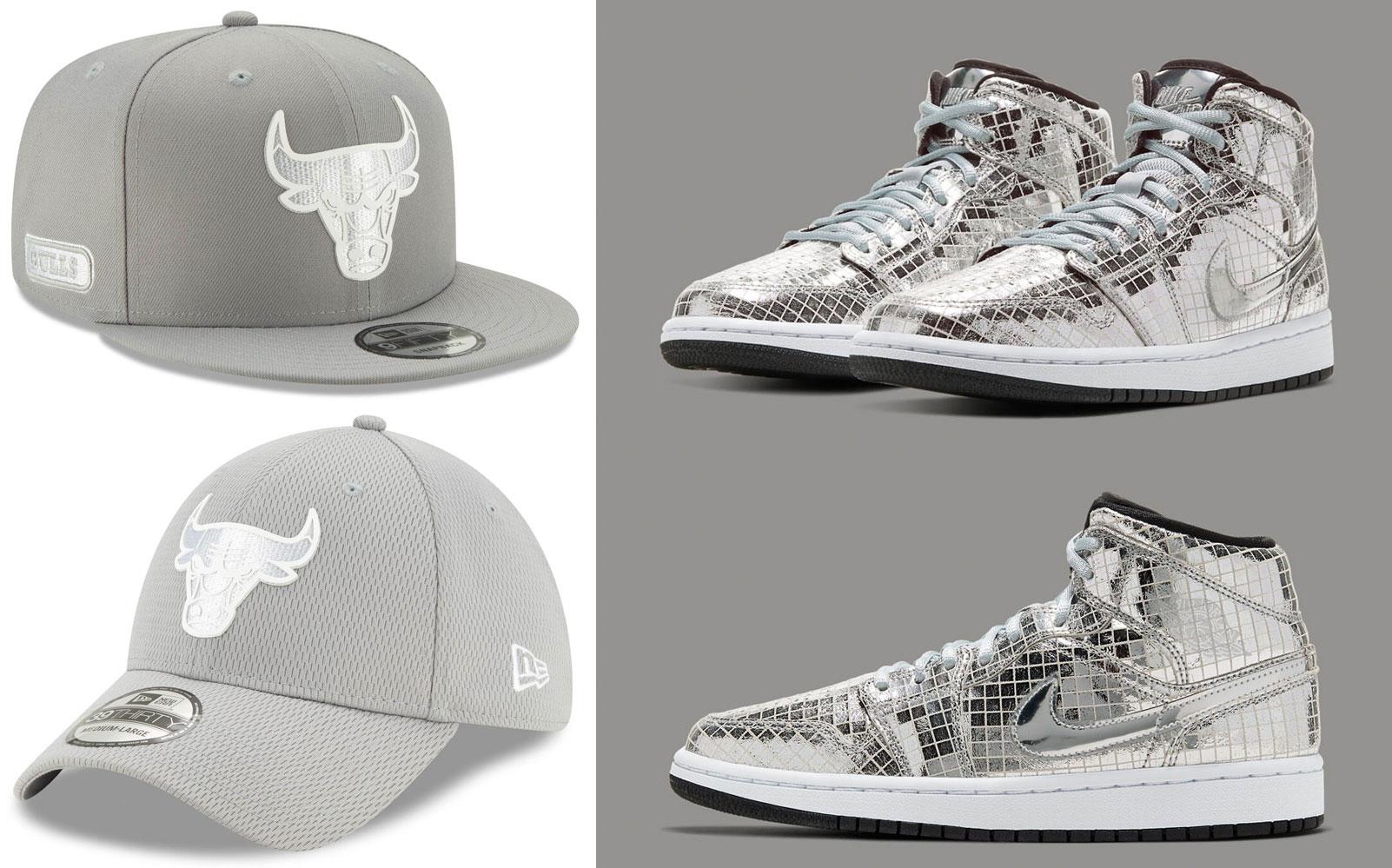 air-jordan-1-mid-disco-ball-silver-bulls-hats