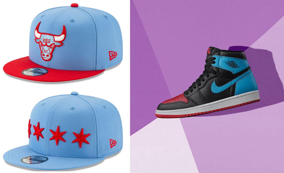 air-jordan-1-unc-to-chicago-bulls-hats