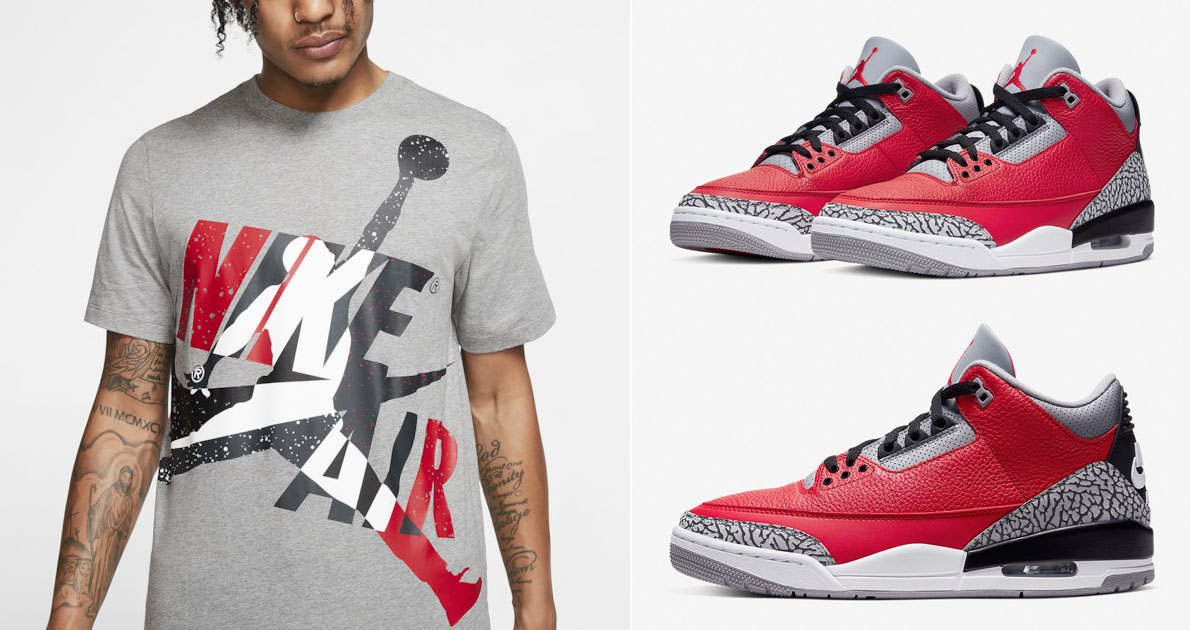 air-jordan-3-red-cement-t-shirt