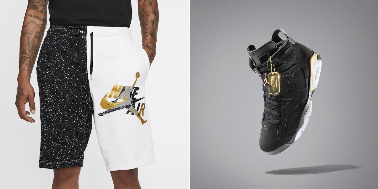 Air Jordan 6 DMP 2020 Shorts to Match