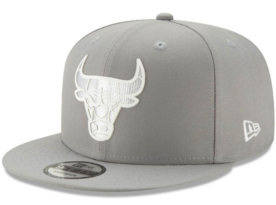 jordan-1-mid-disco-ball-bulls-silver-snapback-cap-2