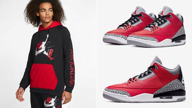 jordan-3-red-cement-matching-hoodie